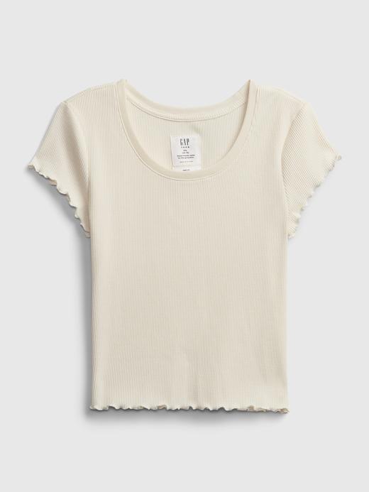 Genç Kız Beyaz Genç Kız | Teen Kısa Kollu T-Shirt