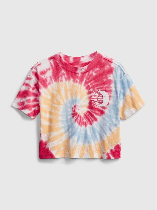 Genç Kız Çok Renkli Genç Kız | Teen Grafik T-Shirt