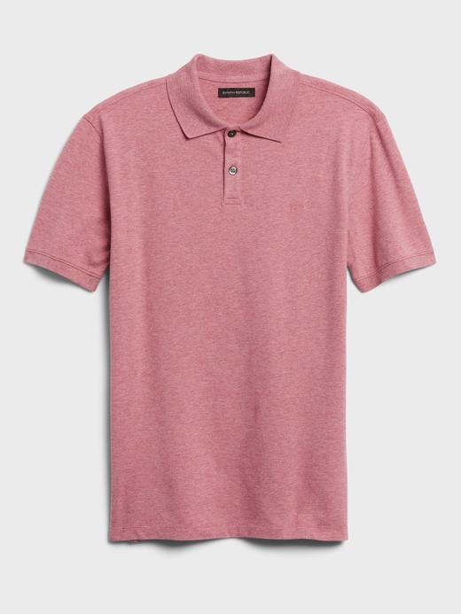 Erkek Pembe Pique Polo Yaka T-Shirt