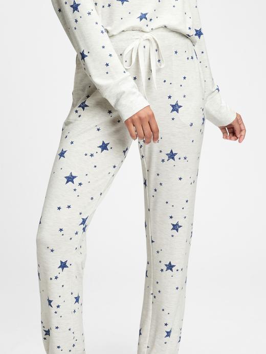 Kadın Gri Modal Karışımlı Supersoft Pijama Altı