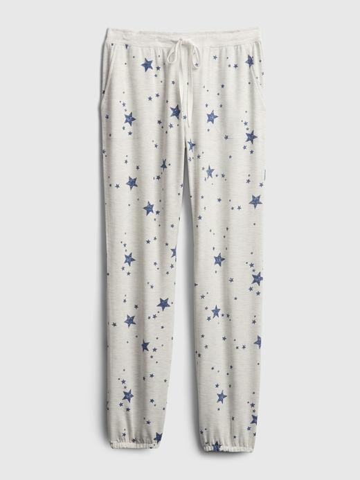 Kadın Siyah Modal Karışımlı Supersoft Pijama Altı