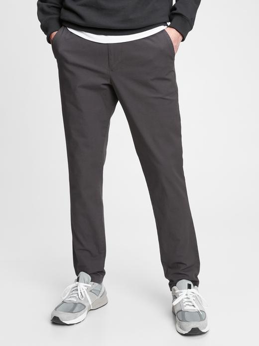 Erkek Siyah GapFlex Slim Easy Pantolon