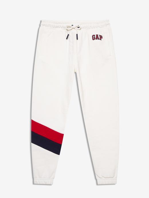 Kız Çocuk Beyaz Gap Logo Jogger Eşofman Altı