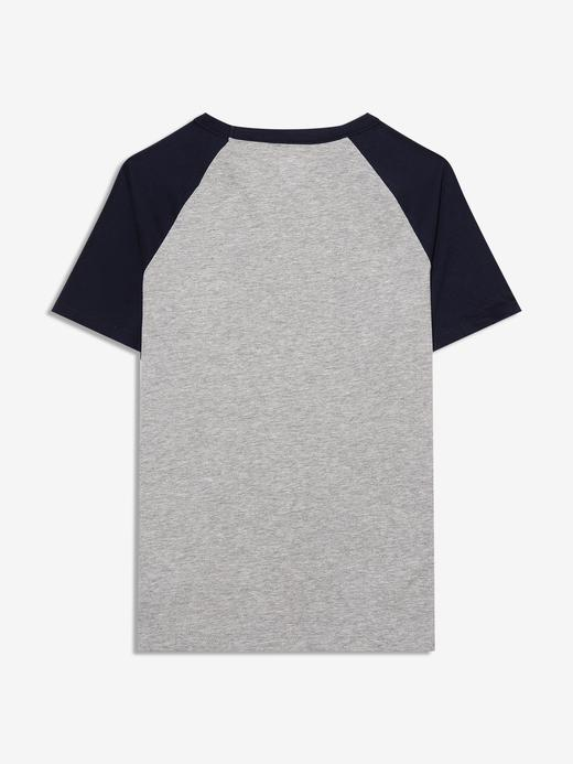 Erkek Çocuk Gri Kısa Kollu Grafik T-Shirt