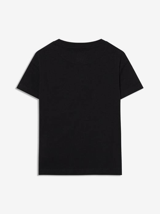 Erkek Bebek Siyah Gap Logo Kısa Kollu T-shirt