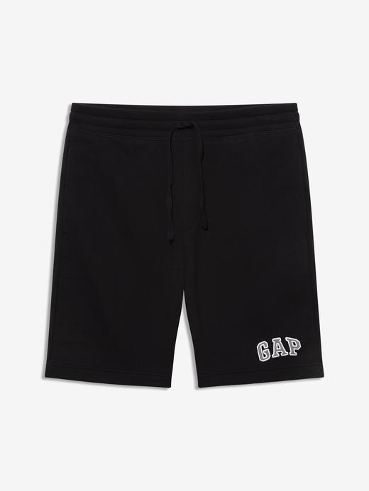 Erkek Siyah Gap Logo Şort