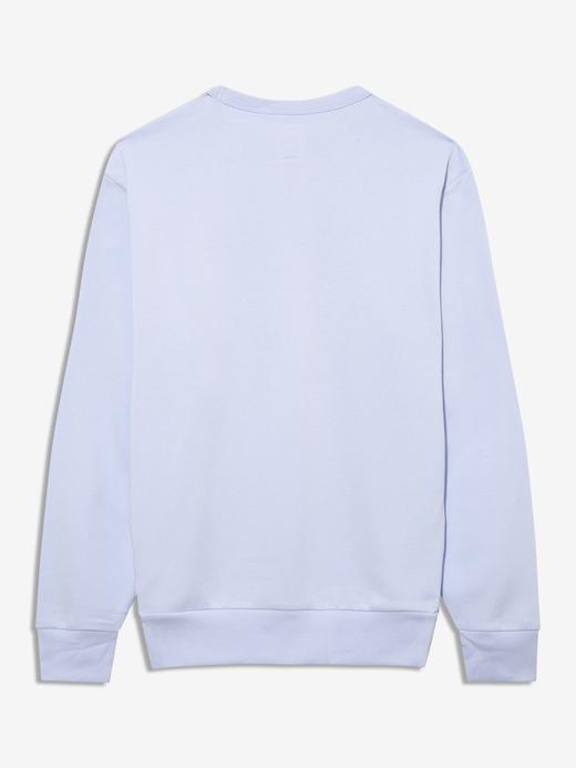 Erkek mavi Gap Logo Yuvarlak Yaka Sweatshirt