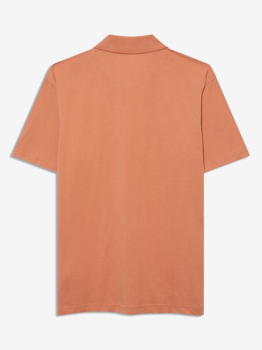 Erkek Turuncu Kısa Kollu Polo Yaka T-Shirt
