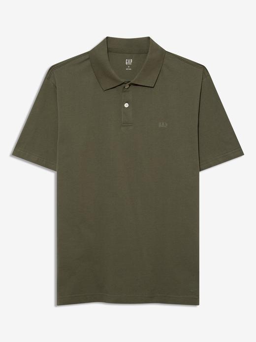 Erkek Yeşil Kısa Kollu Polo Yaka T-Shirt