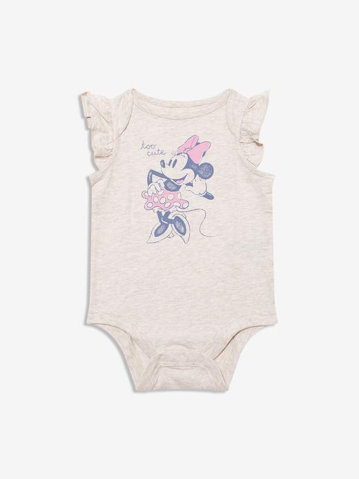 Kız Bebek Bej Disney Minnie Mouse Body