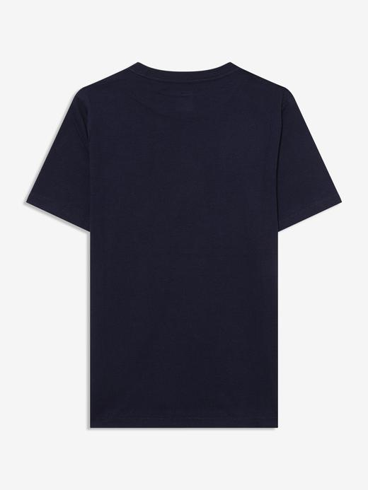 Erkek Çocuk Siyah Gap Logo Kısa Kollu T-Shirt