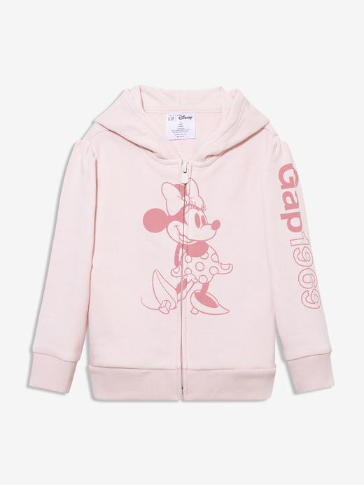 Kız Bebek Pembe Gap Logo Minnie Mouse Sweatshirt