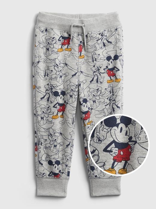 Erkek Bebek Gri Disney Mickey Mouse Jogger Eşofman Altı