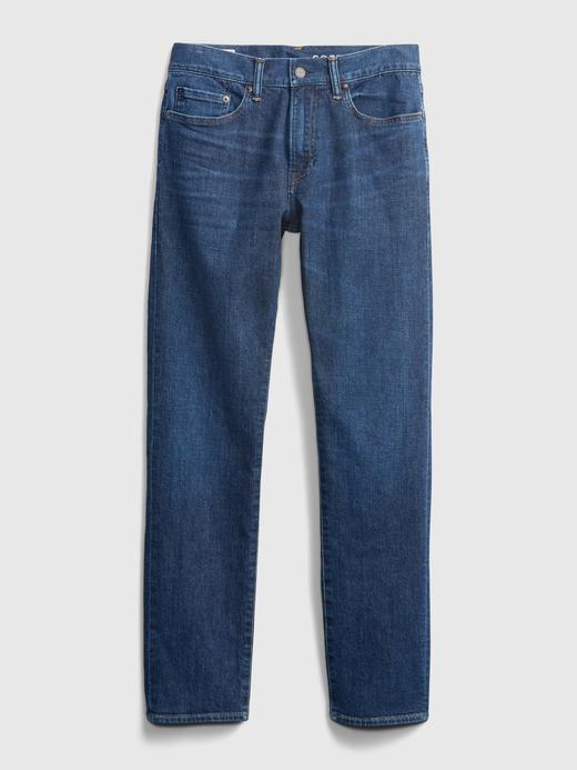 Erkek Mavi GapFlex Slim Jean Pantolon