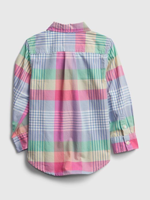 Erkek Bebek Çok Renkli Ekose Gömlek