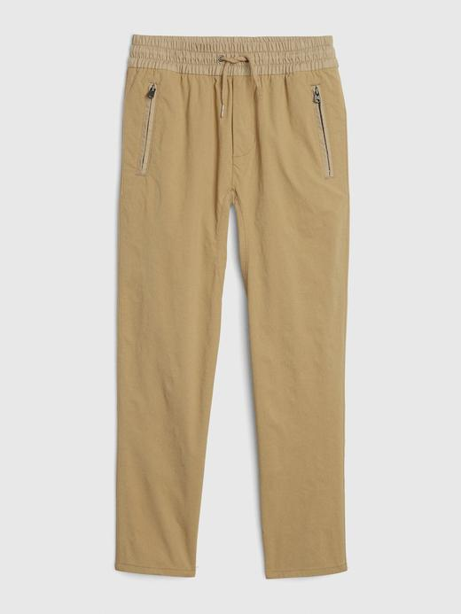 Erkek Çocuk Bej QuickDry Pull-On Pantolon