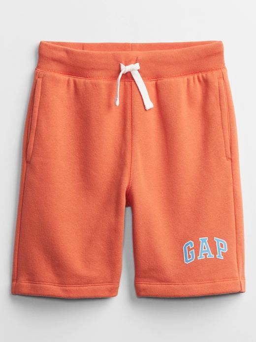 Erkek Çocuk Turuncu Gap Logo Pull-On Şort