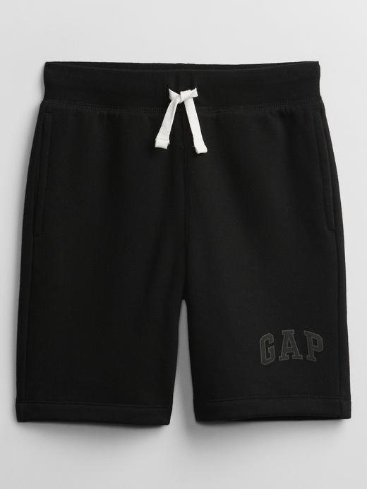 Erkek Çocuk Siyah Gap Logo Pull-On Şort