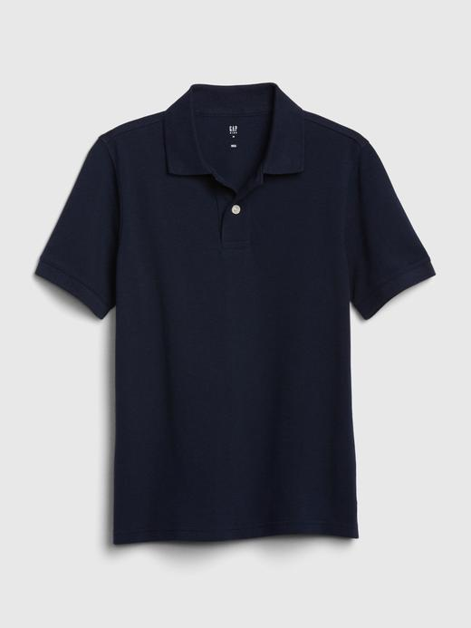 Erkek Çocuk Lacivert Polo Yaka T-Shirt