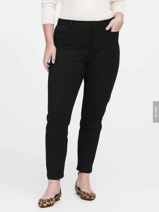 Kadın Beyaz Sloan Skinny-Fit Pantolon