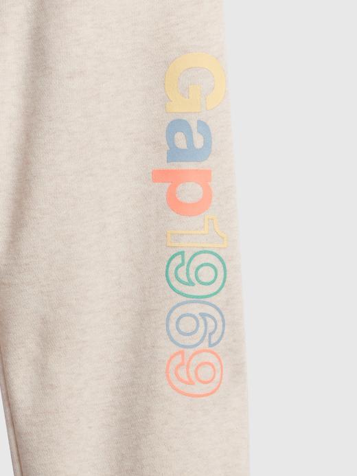 Kız Çocuk Pembe Gap Logo Eşofman Altı
