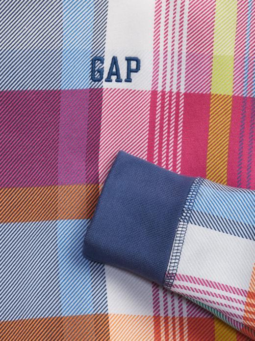 Erkek Çocuk Çok Renkli Ekose Sweatshirt