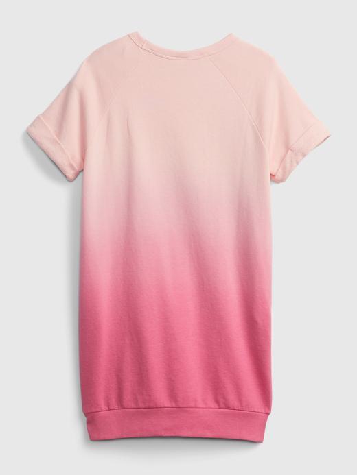 Kız Çocuk Pembe Gap Logo T-Shirt Elbise