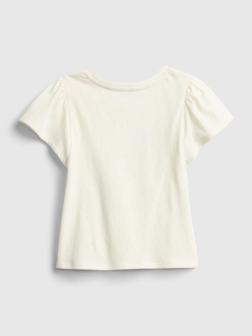 Kız Bebek Yeşil Grafik T-Shirt