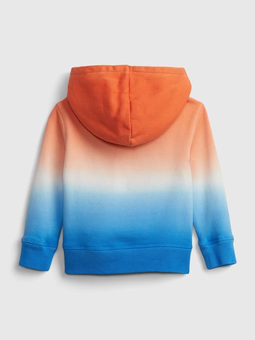Erkek Bebek Turuncu Gap Logo Kapüşonlu Sweatshirt