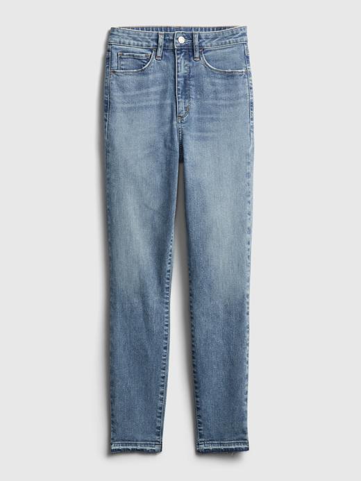 Kadın Mavi Sky High-Rise Jegging  Pantolon