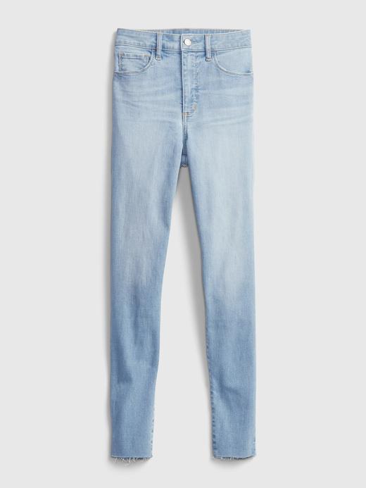 Kadın Mavi High-Rise Jegging  Pantolon
