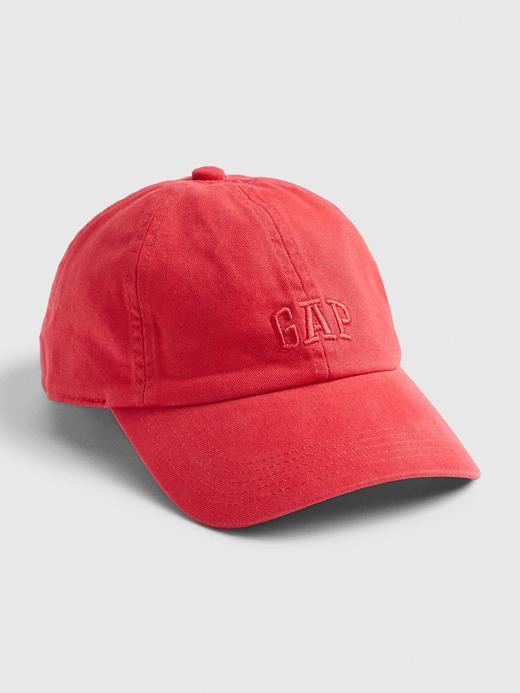 Erkek Kırmızı Gap Logo Beyzbol Şapkası