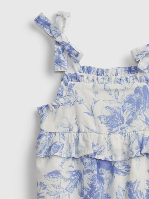 Kız Bebek Mor Çiçek Desenli Body