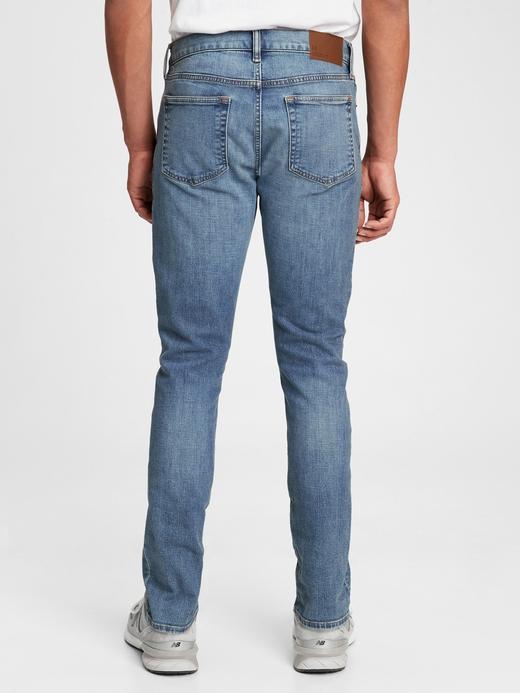 Erkek Mavi GapFlex Slim Jean