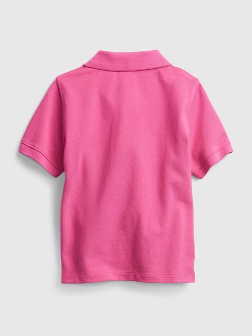 Erkek Bebek Yeşil Polo T-shirt