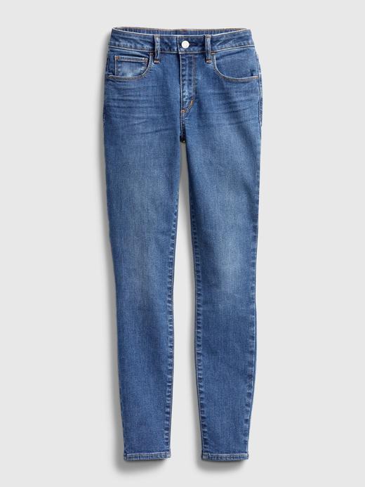Kadın Mavi Mid Rise Universal Jegging Pantolon