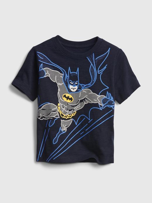 Erkek Bebek Lacivert DC™ Grafik T-shirt