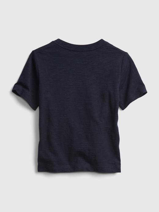 Erkek Bebek Gri DC™ Grafik T-shirt
