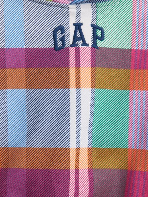 Erkek Bebek Çok Renkli Gap Logo Kapüşonlu Sweatshirt