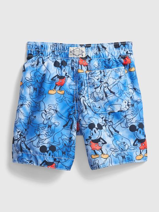 Erkek Bebek Mavi Disney Mickey Mouse Mayo