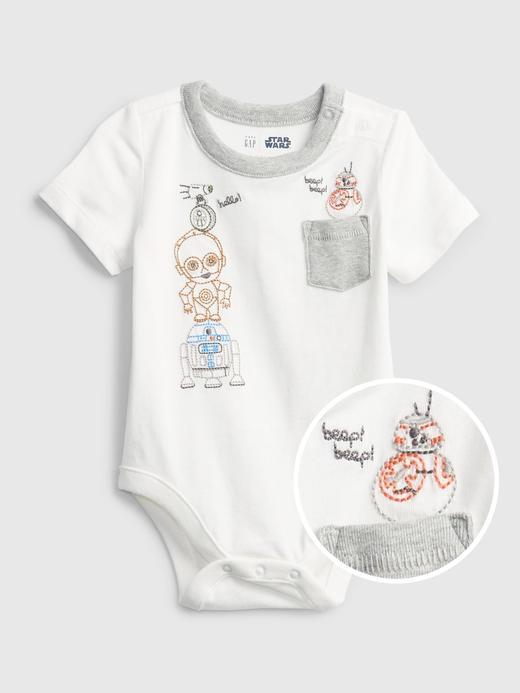 Erkek Bebek kırık beyaz Star Wars™  Bodysuit