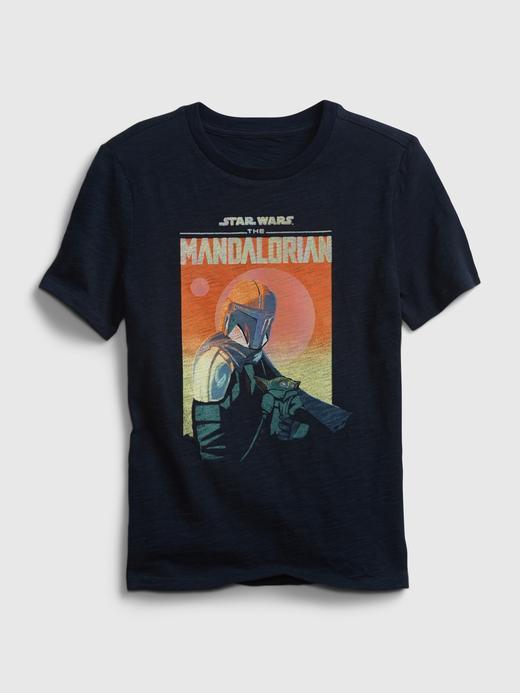 Erkek Çocuk Lacivert Star Wars™ İnteraktif Grafik T-Shirt