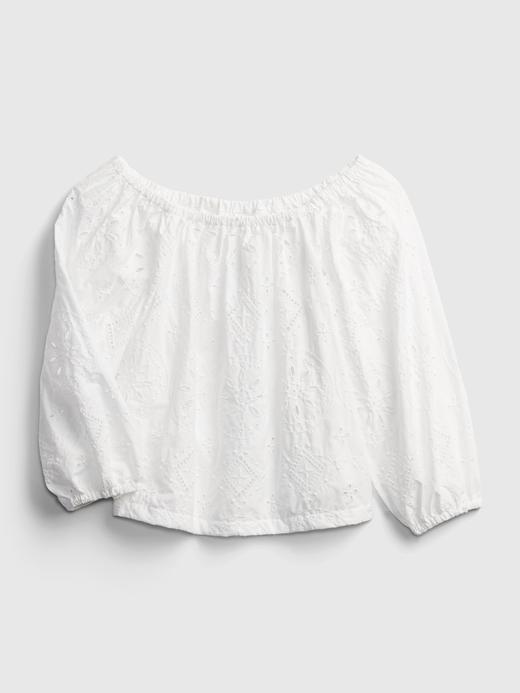 Kadın Beyaz Omzu Açık Bluz