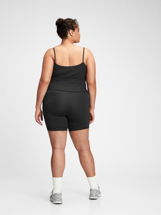 Kadın Siyah GapFit Ribli Atlet
