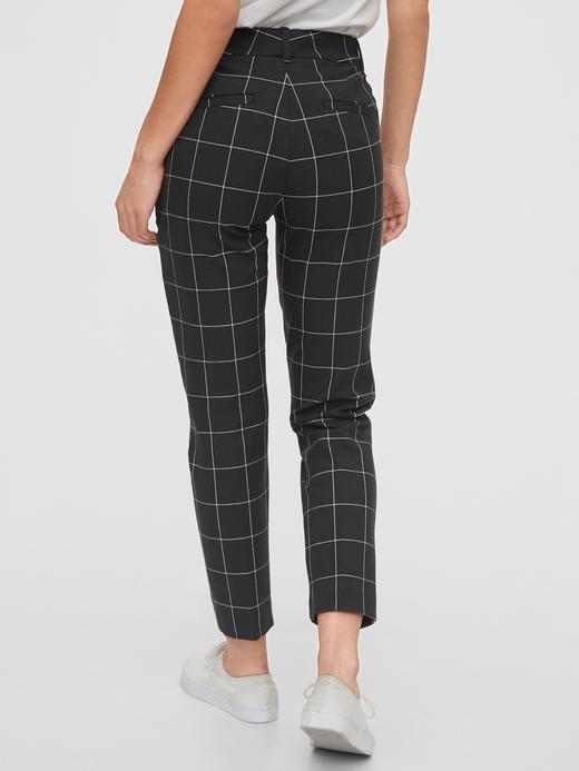 Kadın Siyah Slim Ankle Pantolon