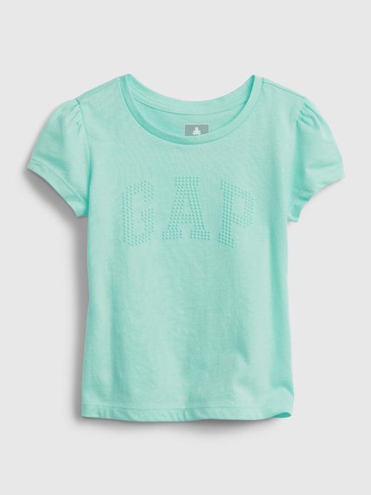 Kız Bebek Yeşil Organik Pamuklu T-Shirt