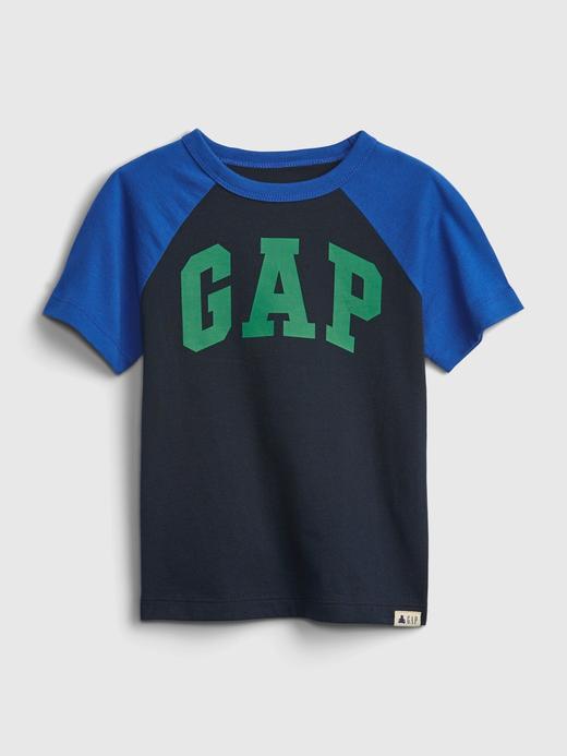 Erkek Bebek Lacivert Gap Logo T-Shirt
