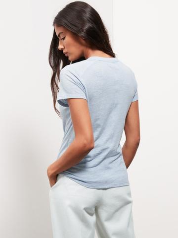 Kadın Kahverengi Yuvarlak Yakalı Kısa Kollu T-Shirt