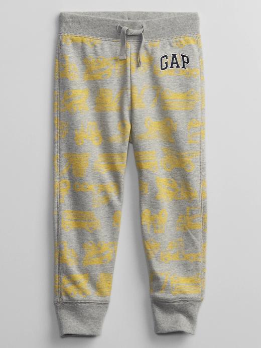 Erkek Bebek Sarı Gap Logo Pull-On Eşofman Altı