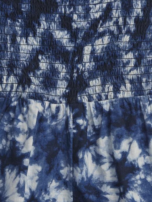 Kız Bebek Mavi Tie-Dye Tulum
